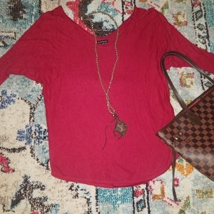 Small Red Express Sweater